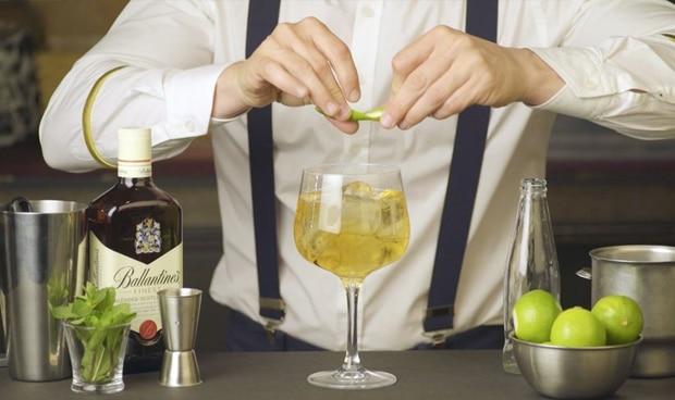 whisky y ginger ale