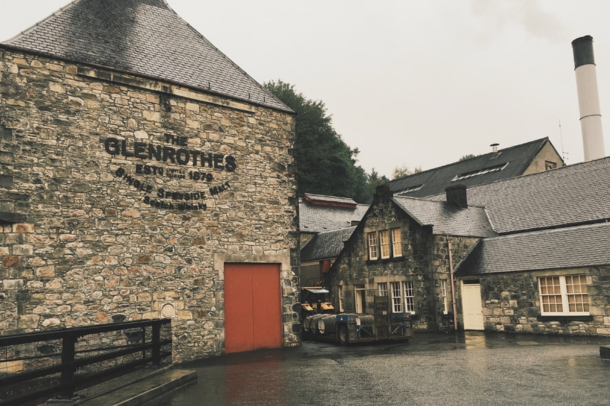 Visitar la destilería The Glenrothes