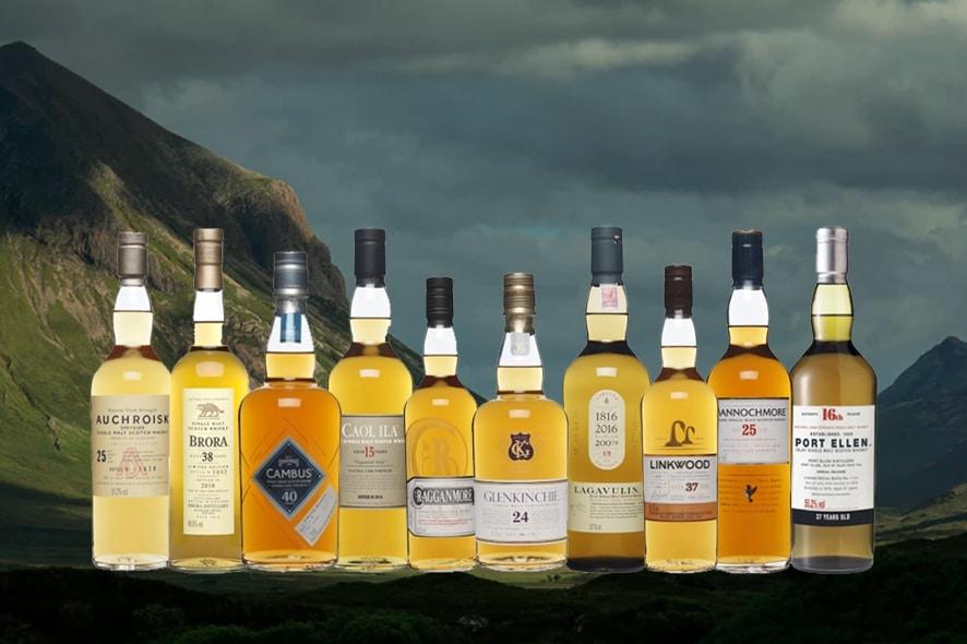 Diageo Special Releases, los rare malts escoceses de 2016