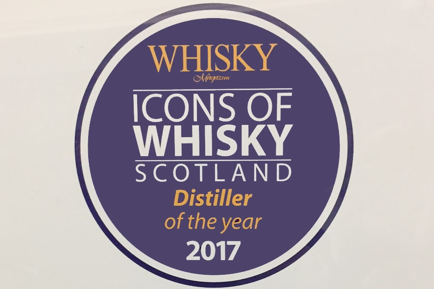 destilador de whisky del año