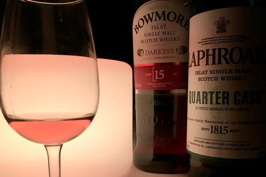 whiskies ahumados