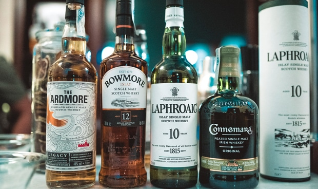 whiskies ahumados
