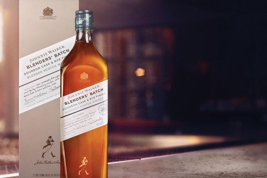 Johnnie Walker Blenders' Batch Bourbon Cask & Rye Finish