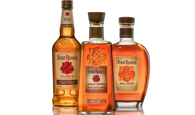 nueva botella de four roses