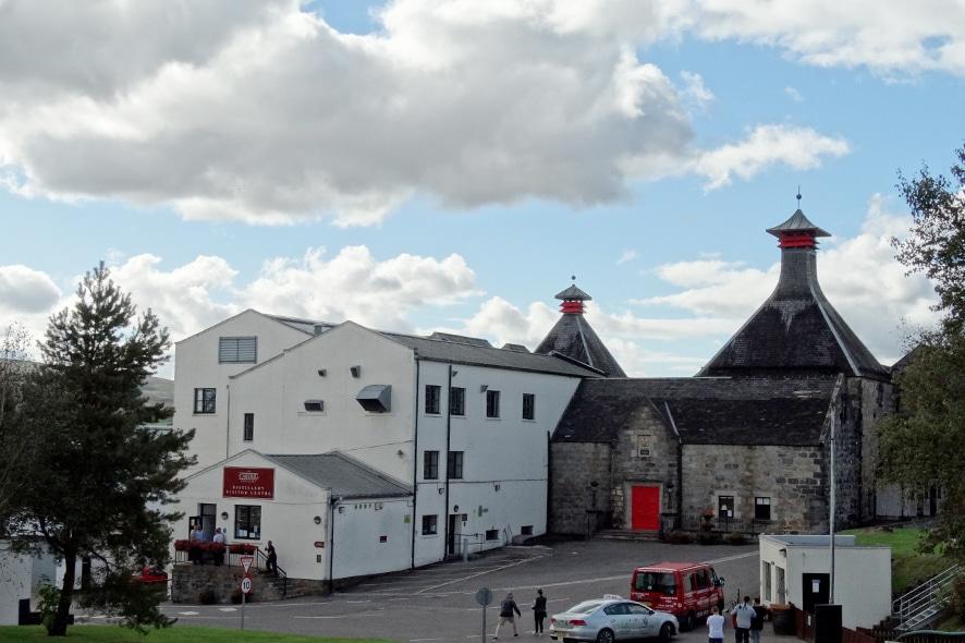 Visitar la destilería de Cardhu