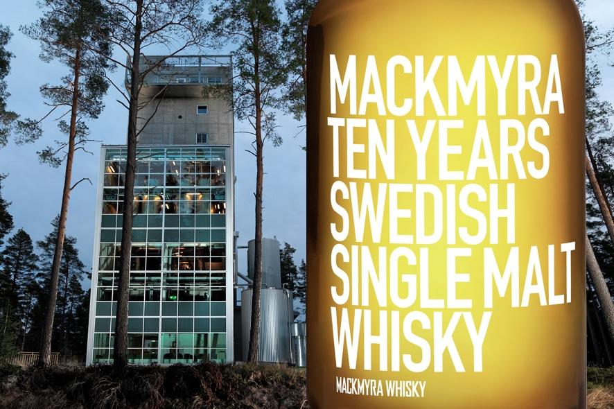 Mackmyra whisky sueco de 10 años