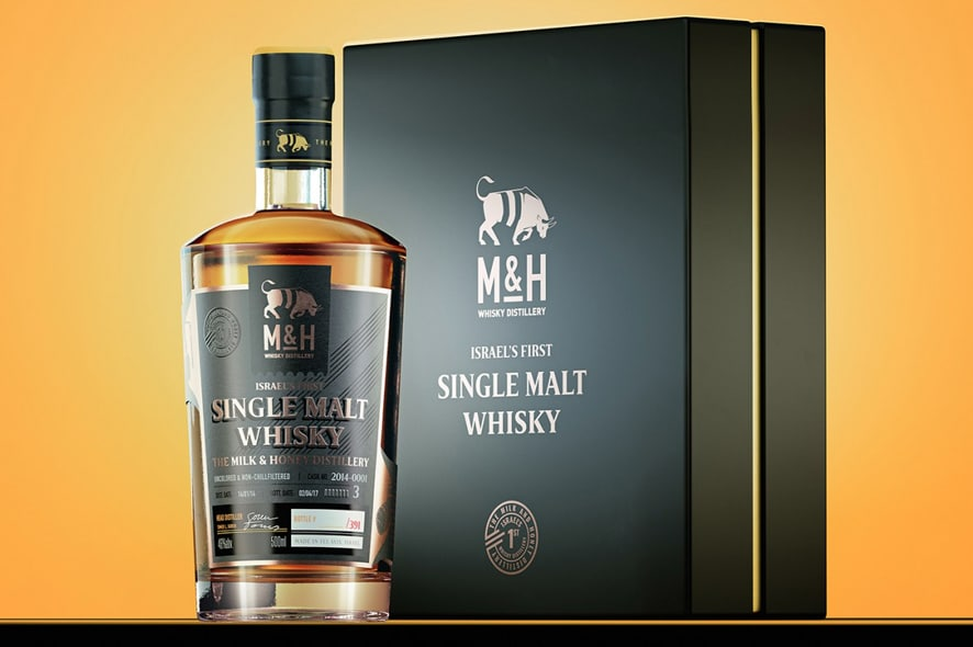 single malt israelí