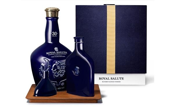 petaca de Royal Salute