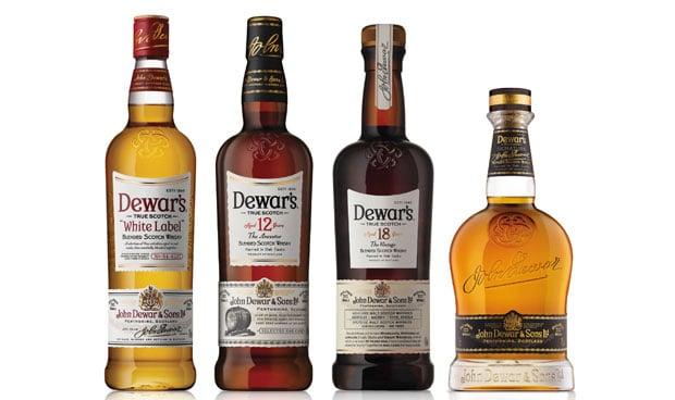marcas de whisky escocés