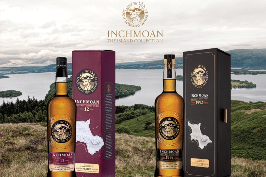 Loch Lomond lanza Inchmoan, dos nuevos whiskies ahumados
