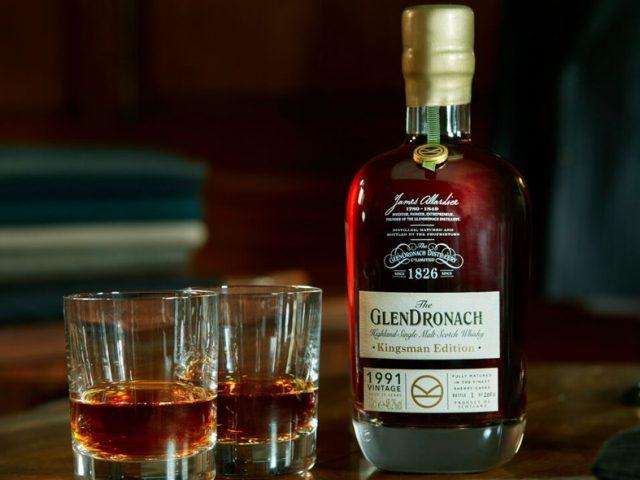 GlenDronach anuncia Kingsman Edition 1991 Vintage