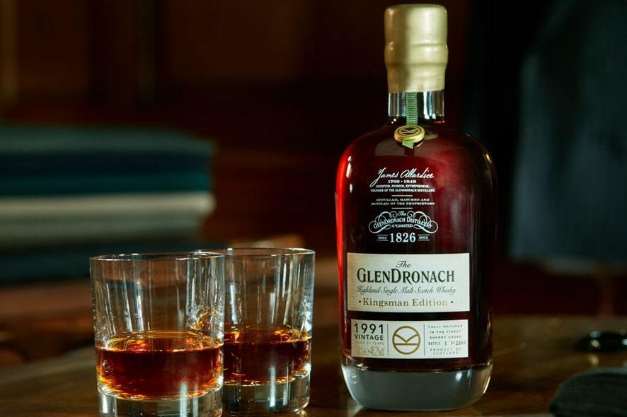 GlenDronach Kingsman Edition 1991 Vintage