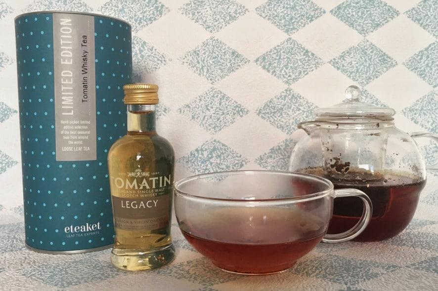 El primer té de barrica de whisky