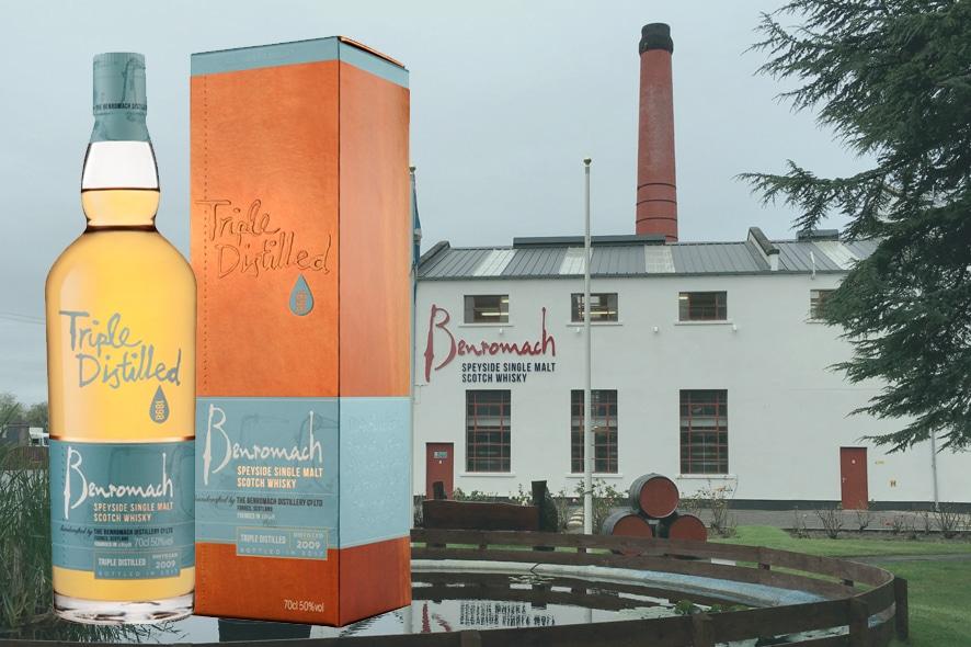 Benromach lanza Triple Distilled