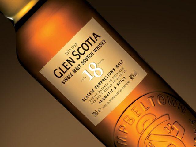 Glen Scotia lanza un nuevo whisky de 18 años