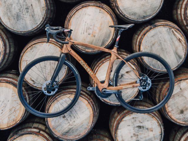 Glenmorangie presenta una bicicleta de barrica