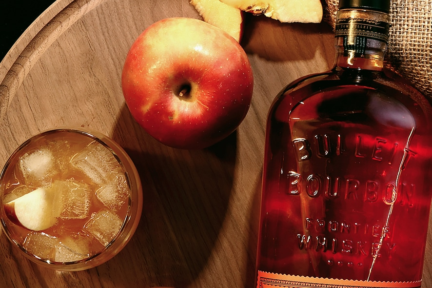 Cóctel: Apple Punch by Bulleit Bourbon