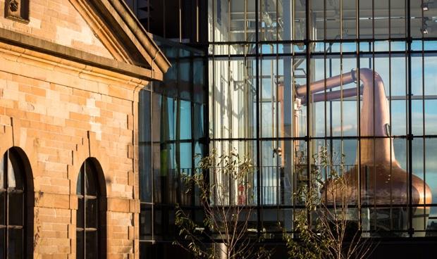 La destilería de Glasgow, Clydeside, abre sus puertas