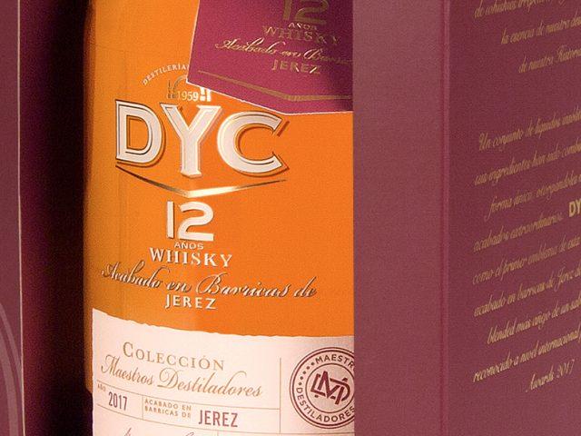 DYC 12 años, la primera expresión de DYC Maestros Destiladores