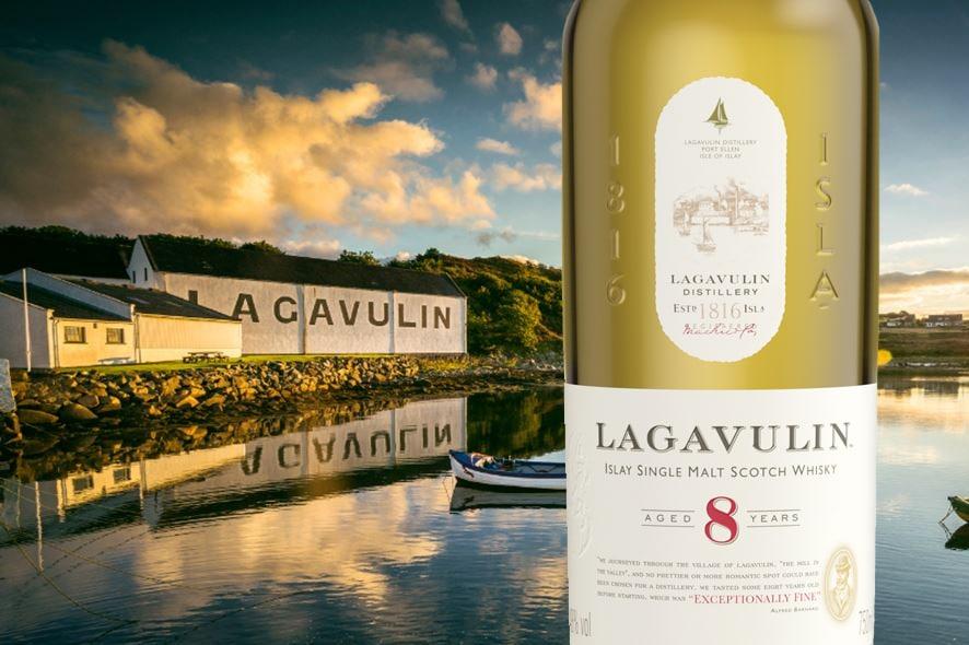 Diageo añade Lagavulin 8 a su gama básica