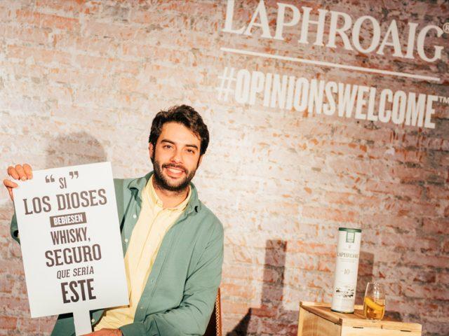 Opinions Welcome, tu opinión de Laphroaig tiene premio