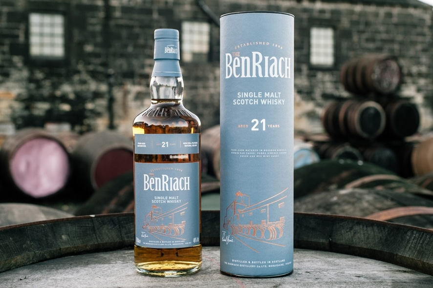 BenRiach 4 barriles - Todo Whisky