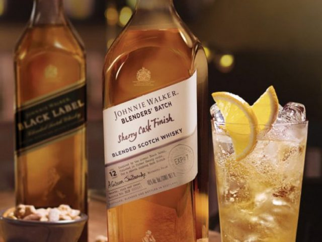 Johnnie Walker Blenders' Batch Sherry Cask Finish, exclusivo para viajeros