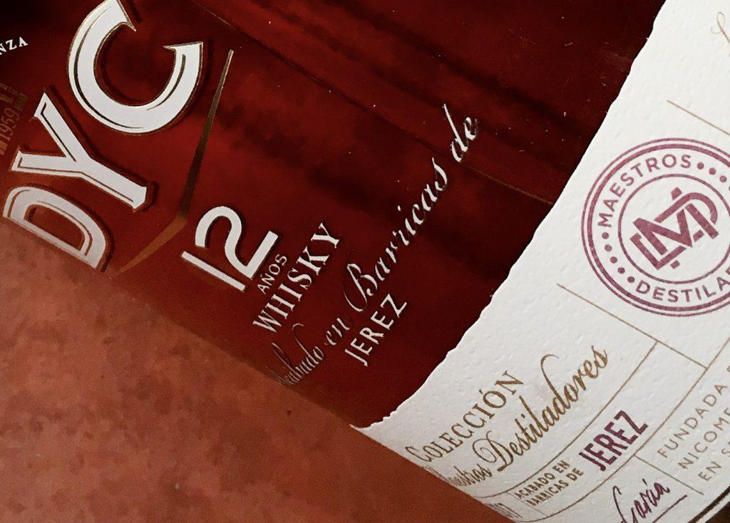 DYC 12 Maestros Destiladores - Todo Whisky