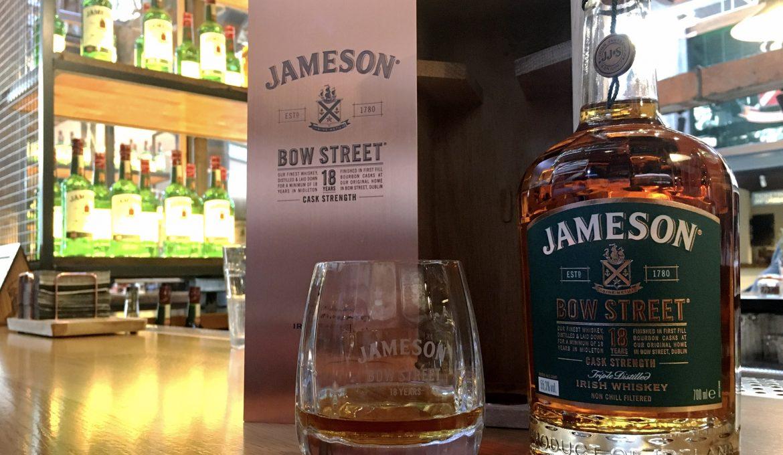 El primer cask strength de Jameson, Bow St 18