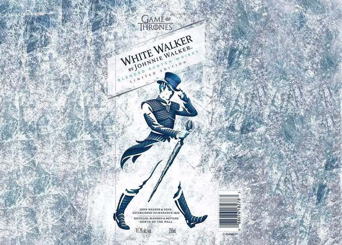 White Walker Johnnie Walker Whisky de Juego de Tronos - Todo Whisky
