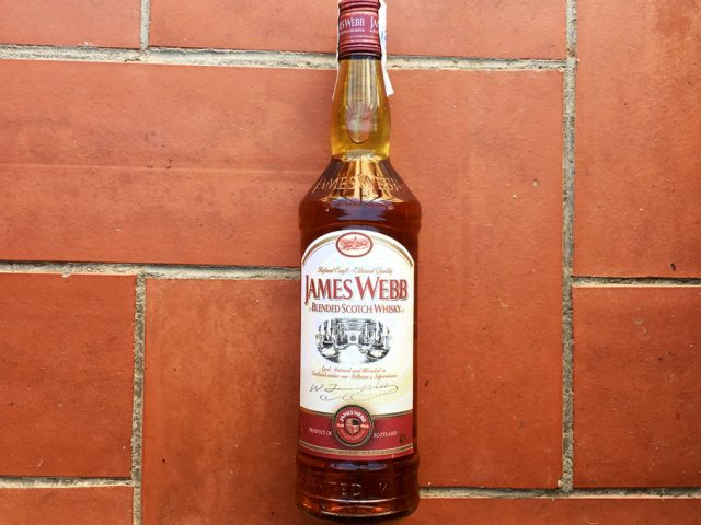 James Webb, whisky de mercadona - Todo Whisky