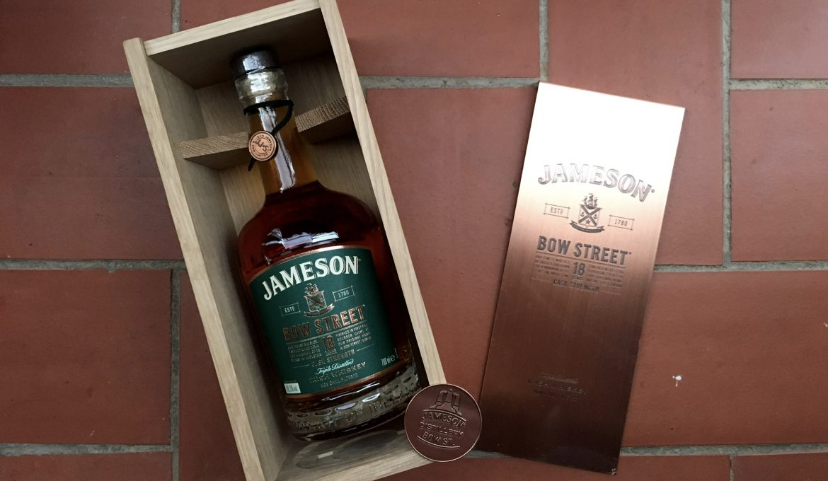 Jameson Bow St 18 Cask Strength - Todo Whisky