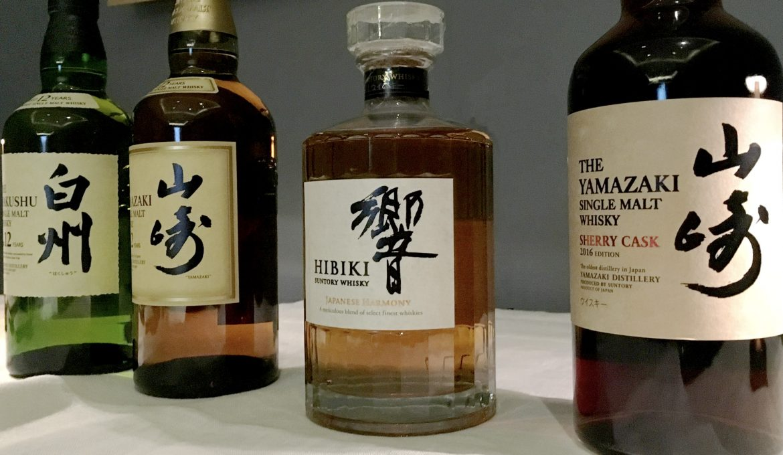 Nos estamos quedando sin whisky japonés