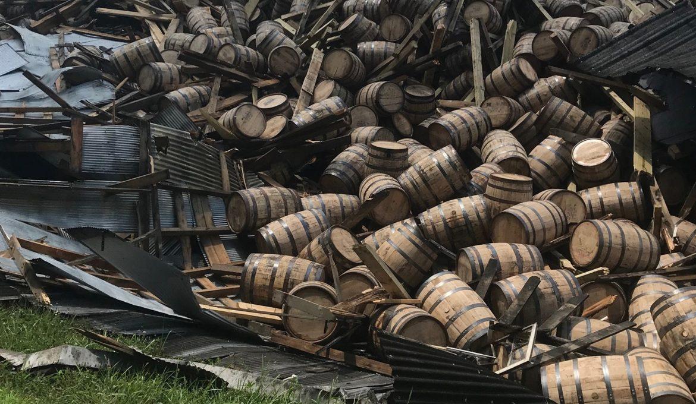 Colapso barricas kentucky - Todo Whisky