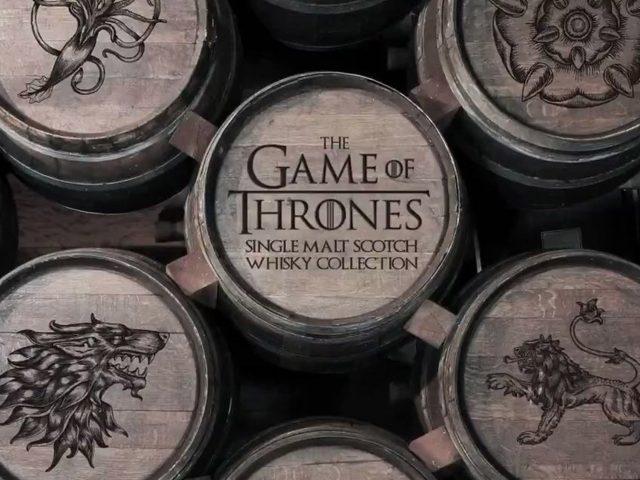 Un whisky de Juego de Tronos para cada casa