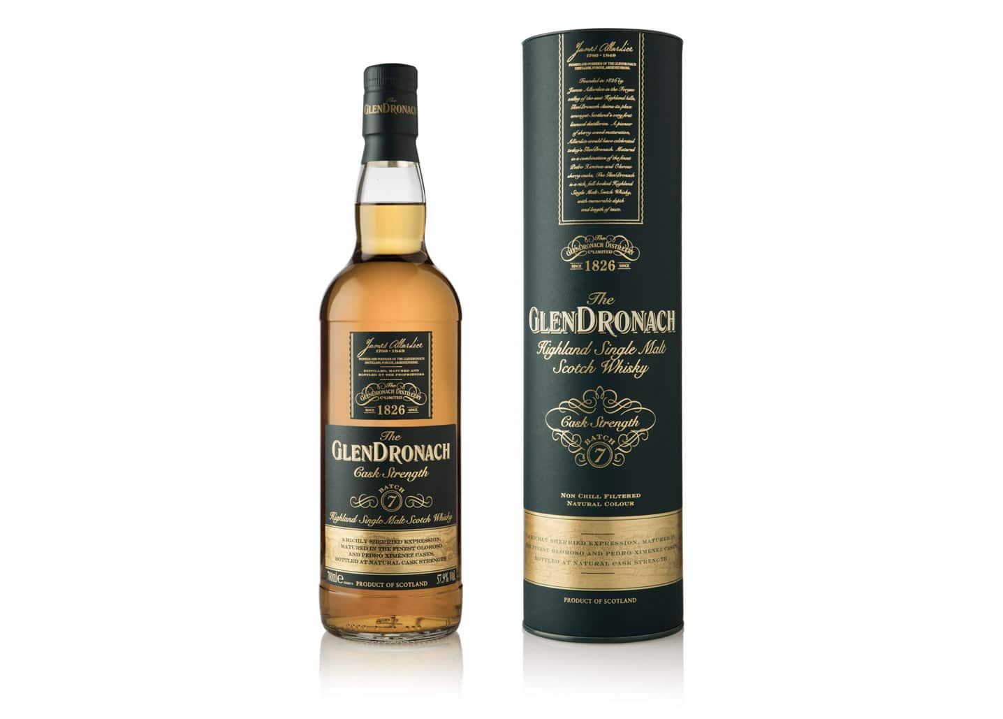 Glendronach Cask Strength Batch 7 - Todo Whisky
