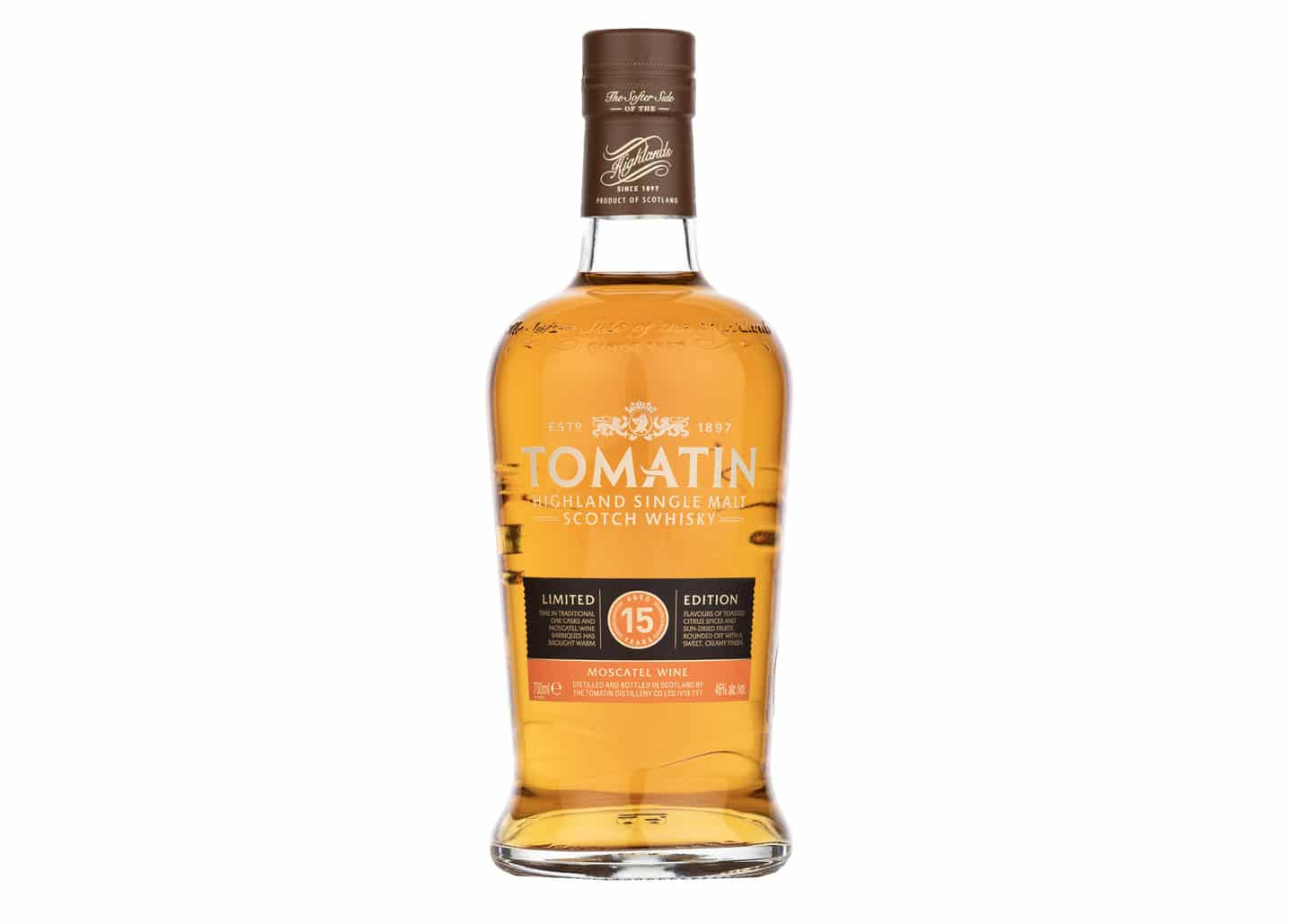 Tomatin 15 Moscatel - Todo Whisky