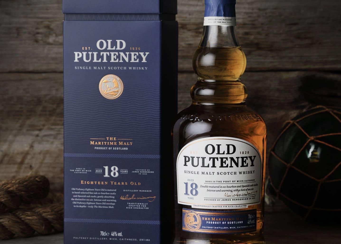 Nueva gama de Old Pulteney - Todo Whisky