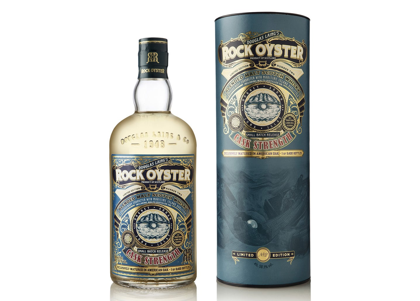 Rock Oyster Cask Strength Batch 2 - Todo Whisky