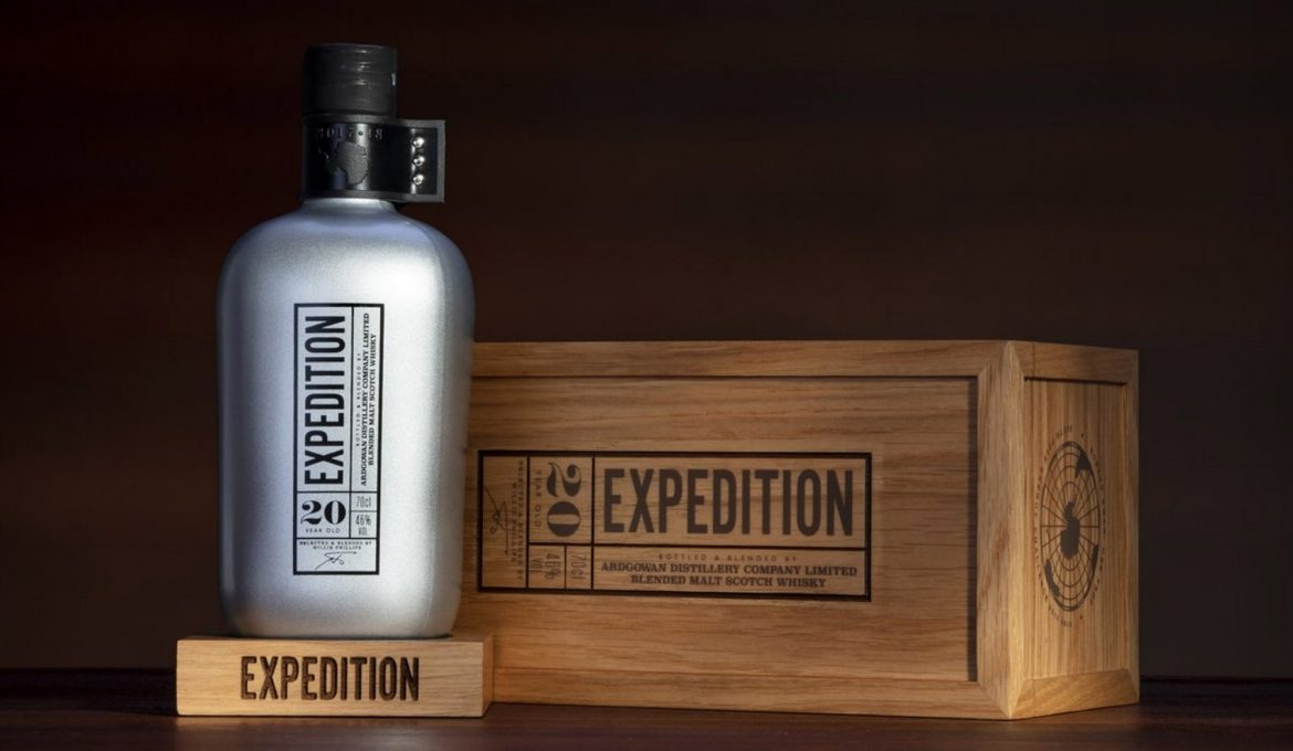 Ardgowan expedition,  su primer whisky