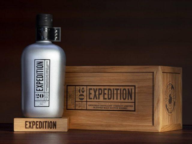 Ardgowan expedition,  su primer whisky