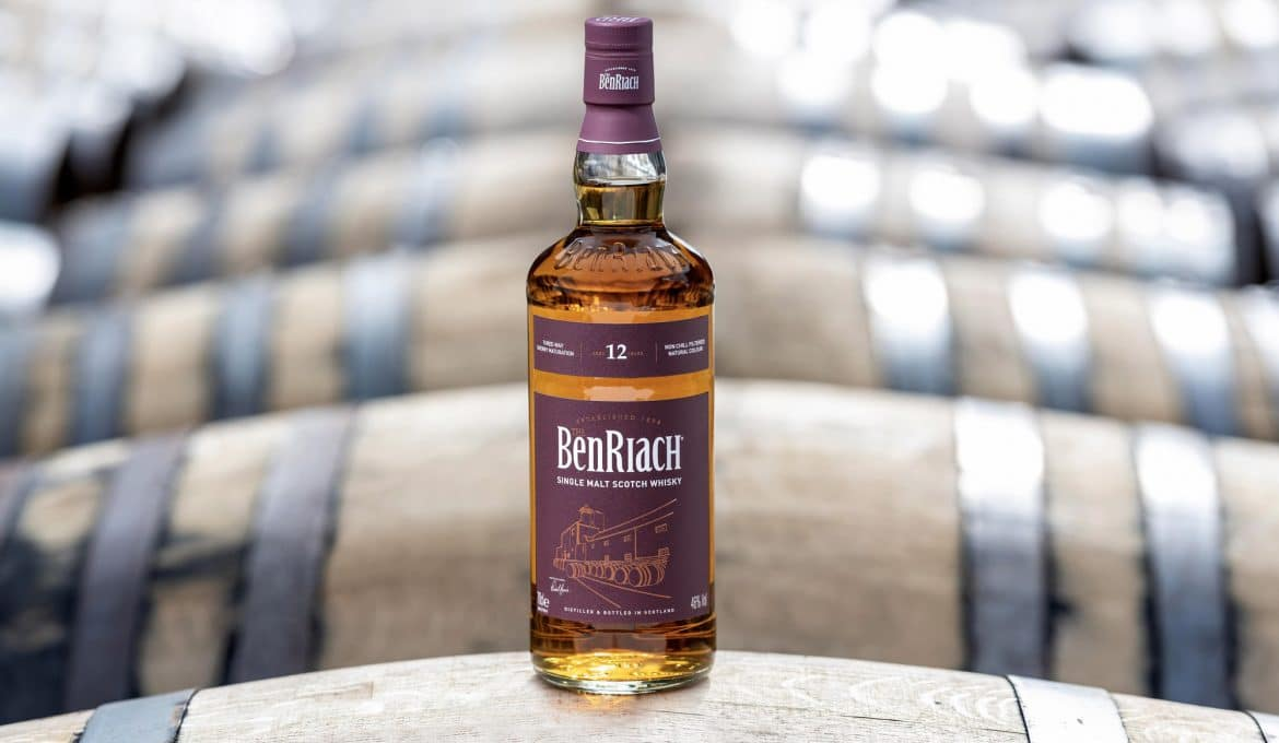 BenRiach Sherry Wood 12 - Todo Whisky