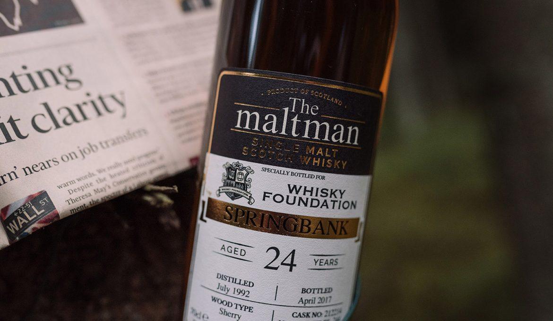 Springbank 24 años de Whisky Foundation