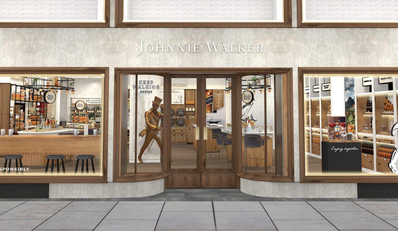 Johnnie Walker Madrid, la primera tienda experiencial de Europa