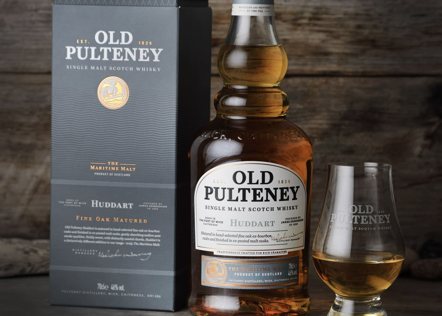 Old Pulteney Huddart - Todo Whisky