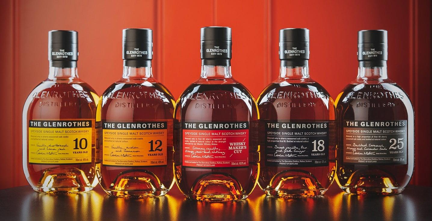 Gama Soleo de Glenrothes - Todo Whisky