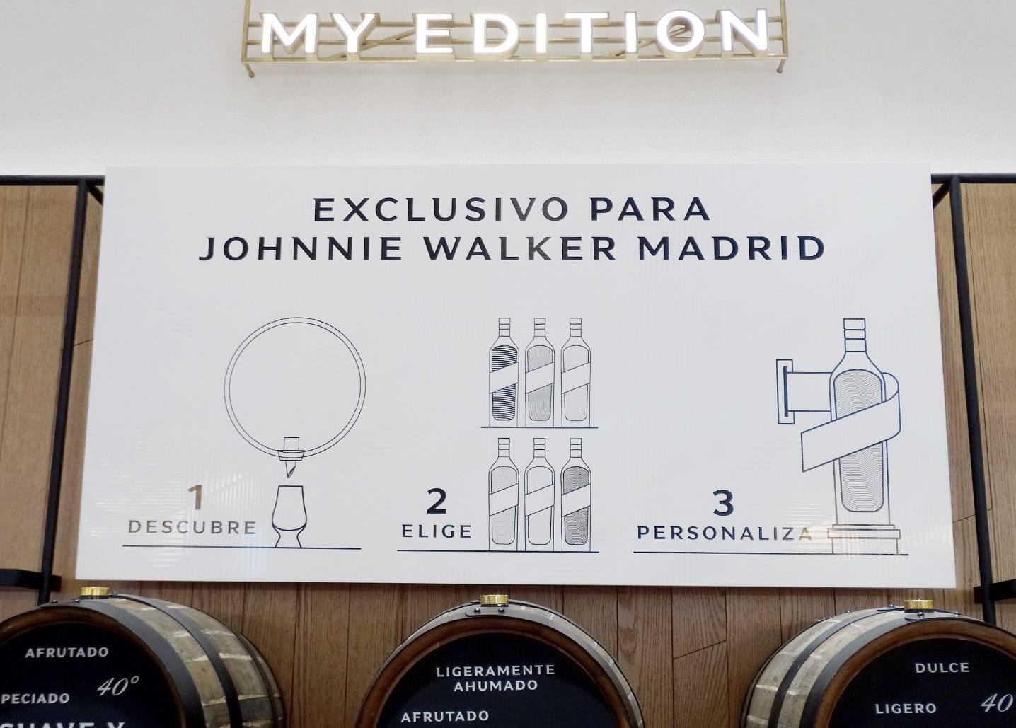 Tienda Johnnie Walker Madrid - Todo Whisky