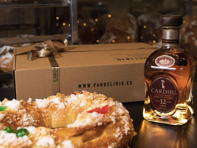 Un roscón de Reyes con whisky, el detalle de Cardhu