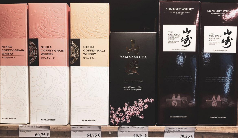 Adiós a más whiskies japoneses
