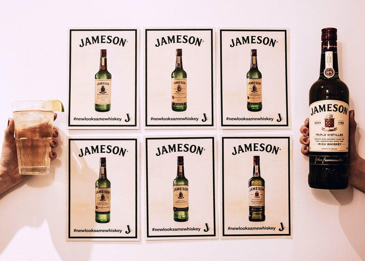 nueva botella de Jameson - Todo Whisky